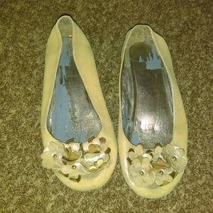 Shoes - Gold Flats